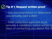BBB Tips on Dealing With Debt Collectors